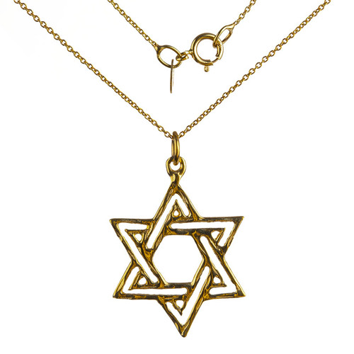 Diamond Cut Star of David Pendant