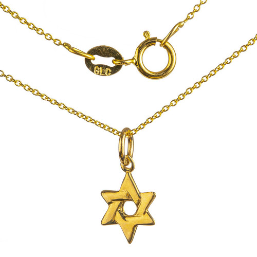 Woven Star of David Pendant