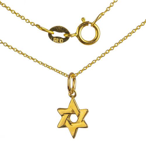 Woven Star of David Pendant