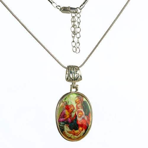 The Holy Family Necklace