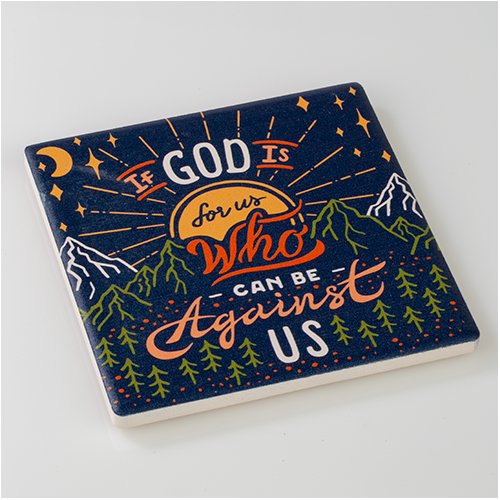 God Is for Us Coaster