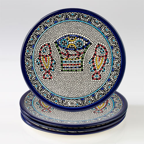 22cm Loaves and Fishes Plate