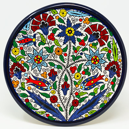 13cm Floral Plate II
