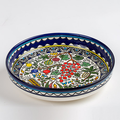 28cm Seven Species Bowl