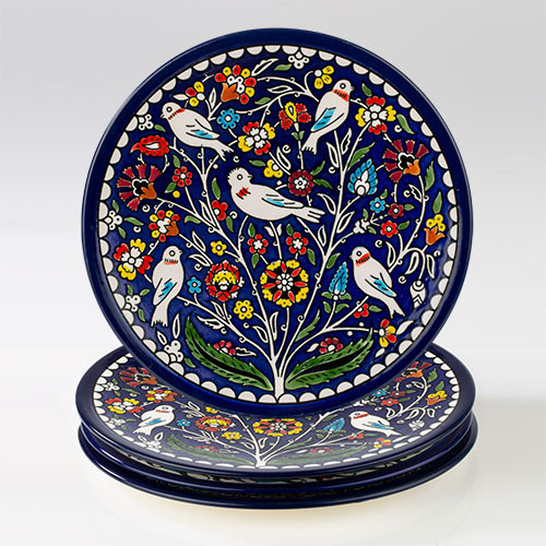 22cm Tree and Birds Plate