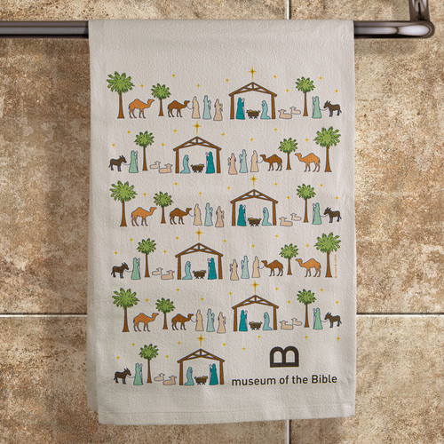 Museum of the Bible Nativity Towel