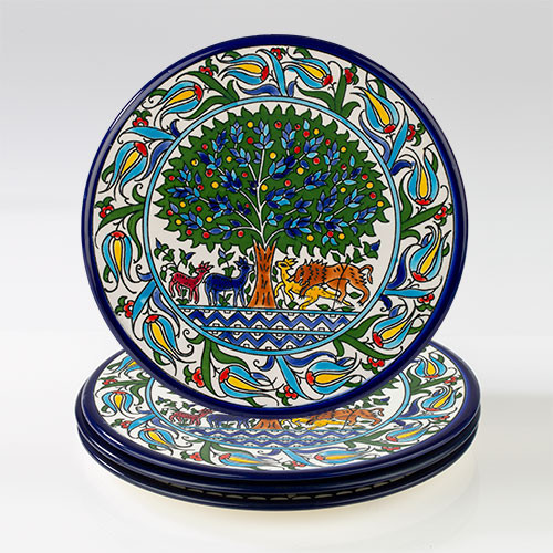 22cm Tree of Life Plate