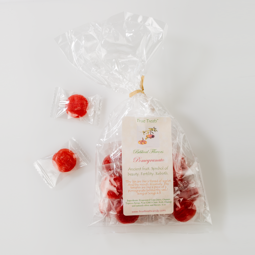 Pomegranate Hard Candies 4oz