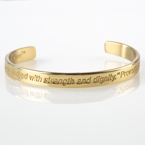 Strength and Dignity Bracelet