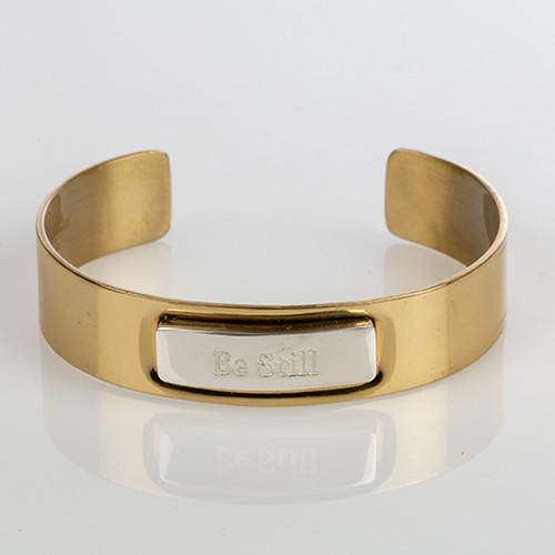 Be Still Plate Bracelet