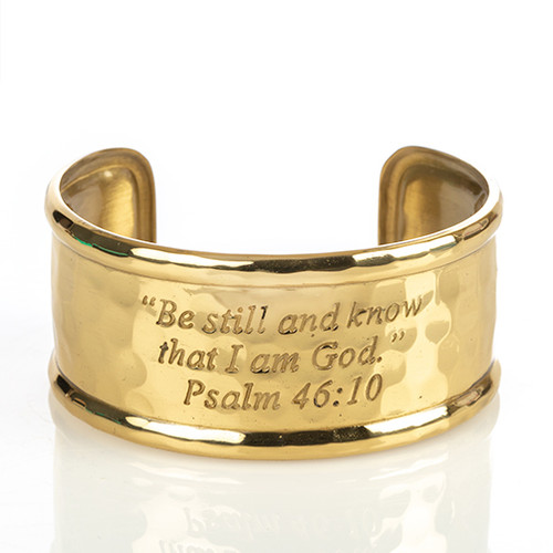 Be Still Rimmed Cuff Bracelet