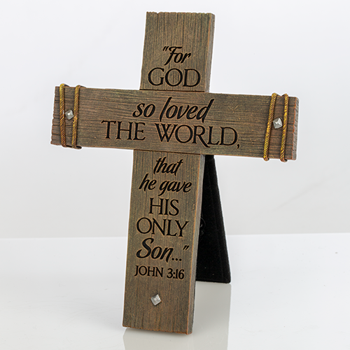 John 3:16 Display Cross