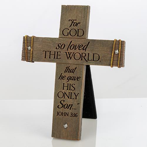 John 3:16 Display Cross