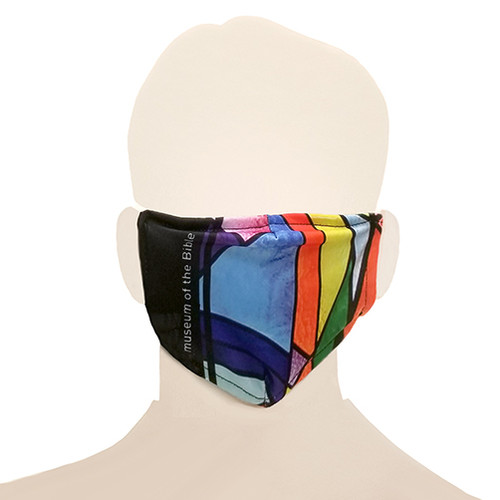 Adult Face Mask - Tiffany Stained Glass