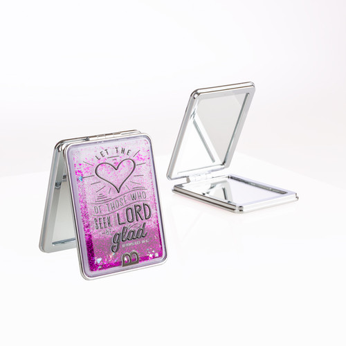 Compact Mirror - Heart Be Glad