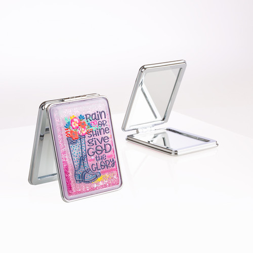 Compact Mirror - Rain or Shine