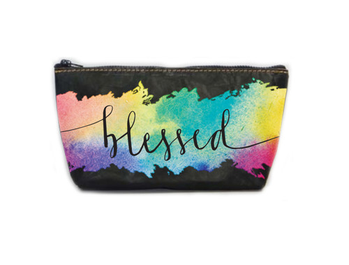 Blessed Zippered Pouch