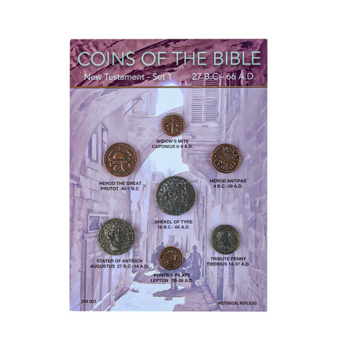 Coins of the Bible - New Testament 27 B.C - 66 A.D