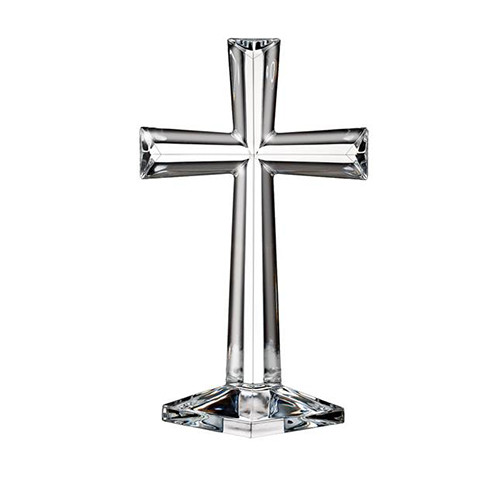 "Waterford 10"" Standing Cross"