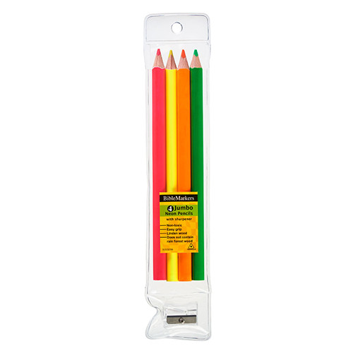 Highlighter Pencil Set - Jumbo