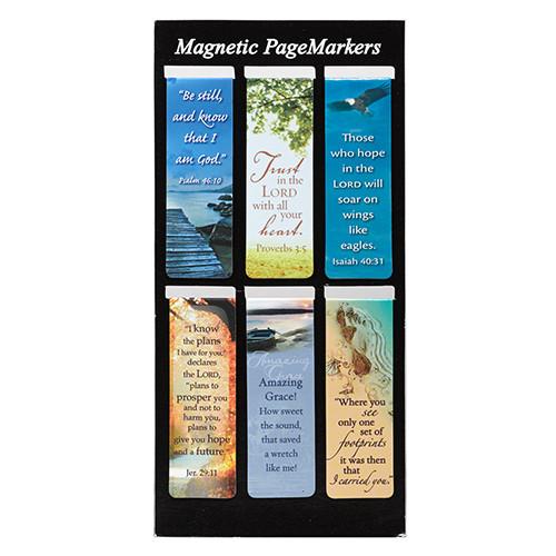 Classic Magnetic Bookmark Set