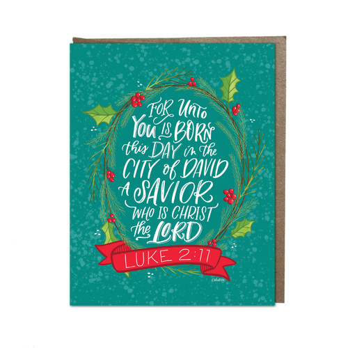 Christmas Card Boxed Set - Unto You Is Born This Day - Luke 2:11