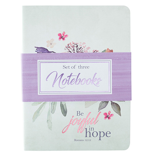 Be Joyful in Hope Large Notebook Set - Romans 12:12