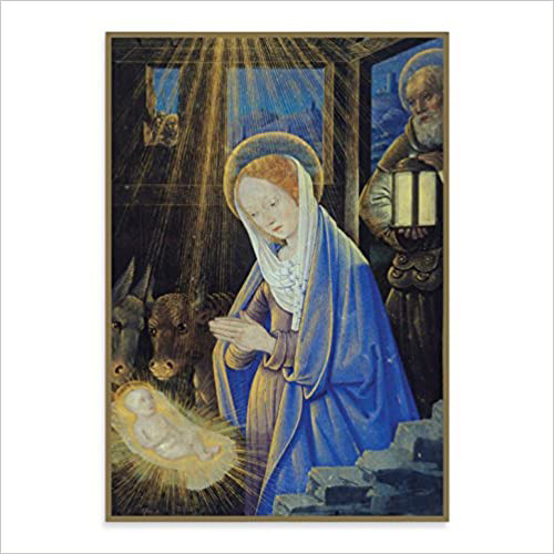 Holy Nativity Christmas Note Card Set