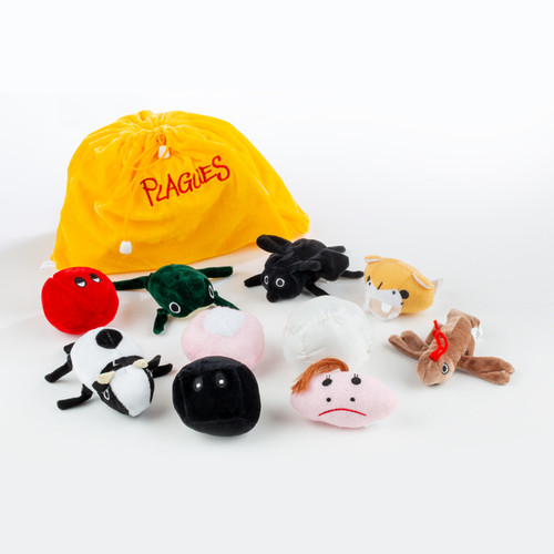 The Passover Plagues Plush Set