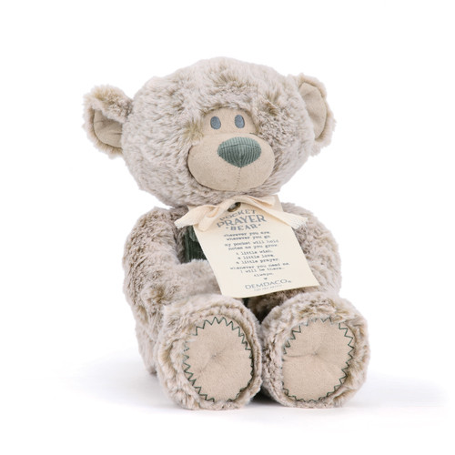 Pocket Prayer Teddy Bear Stuffed Animal Toy