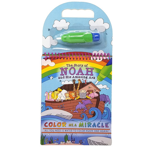 Noah's Ark Color Me a Miracle Book
