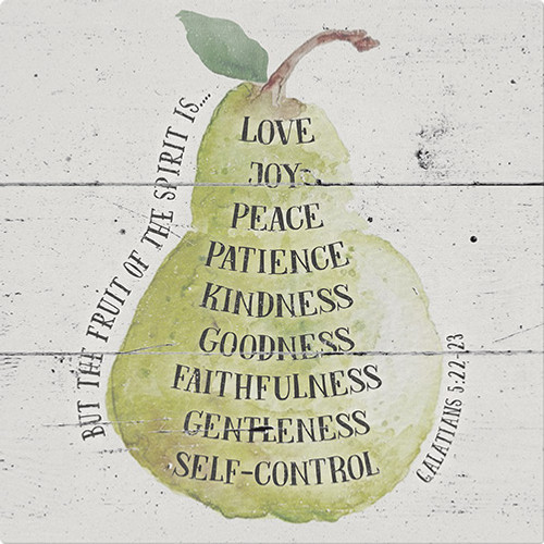 Fruit of the Spirit Trivet