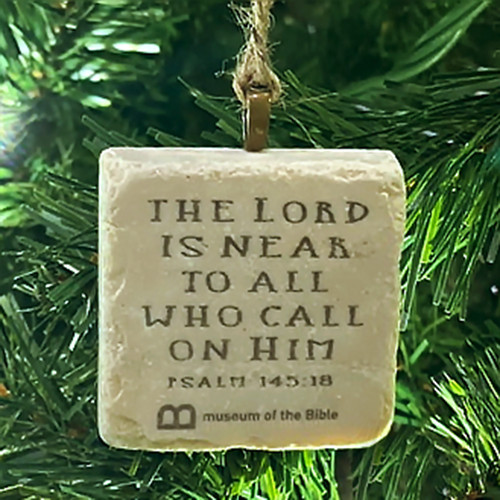 The Lord is Near Stone Ornament