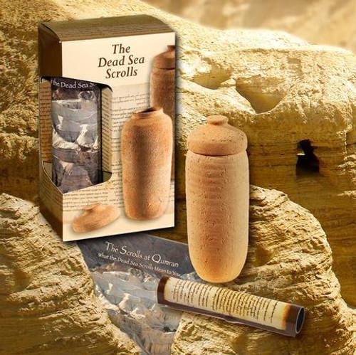 The Scrolls at Qumran: Dead Sea Scrolls Set