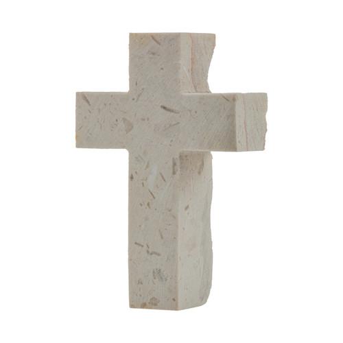Jerusalem Stone Pocket Cross