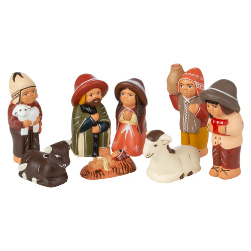 Nativities from Around the World - Peru Collection
