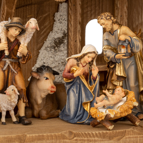 13 Piece PEMA Kostner Nativity Collection