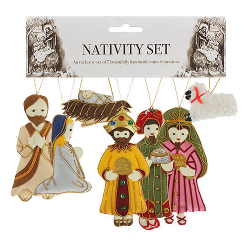 7 Piece Nativity Set - Thailand