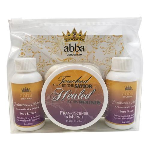 Frankincense and Myrrh Spa Gift Set