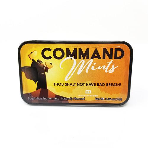 Command-Mints Peppermint Breath Mints Tin