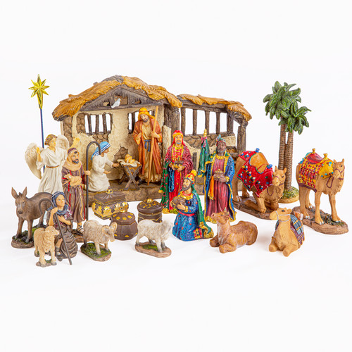 Real Life Nativity Complete 23 Pc Set