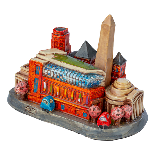 Ceramic DC Skyline with Museum of the Bible