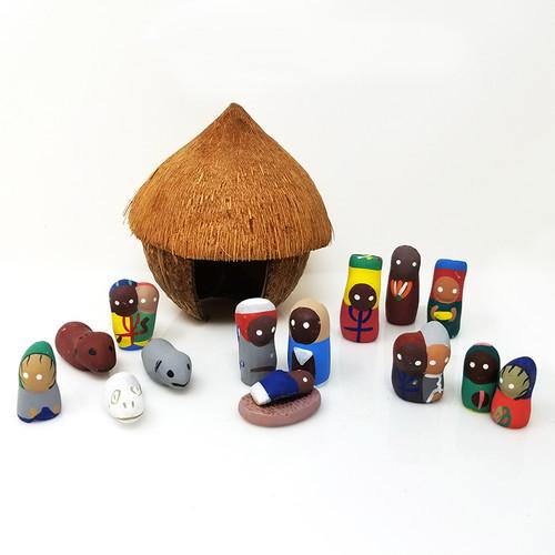 Coconut Nativity - Haiti