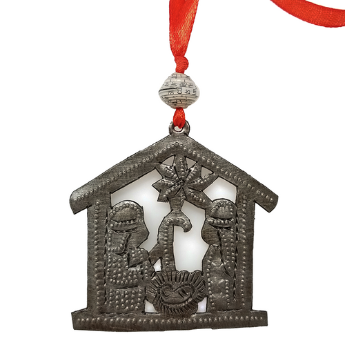 "Nativity Ornament 2"" - Haiti"