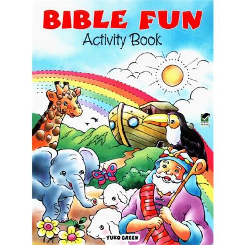 Bible Fun Activity Book