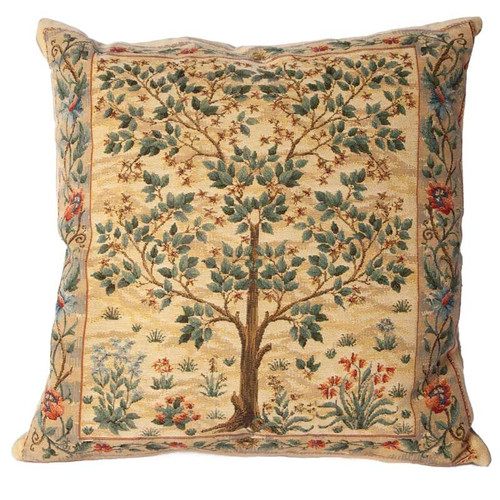 Tree of Life Cushion - Light