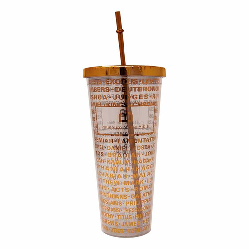 MOTB Books of the Bible Copper Tumbler