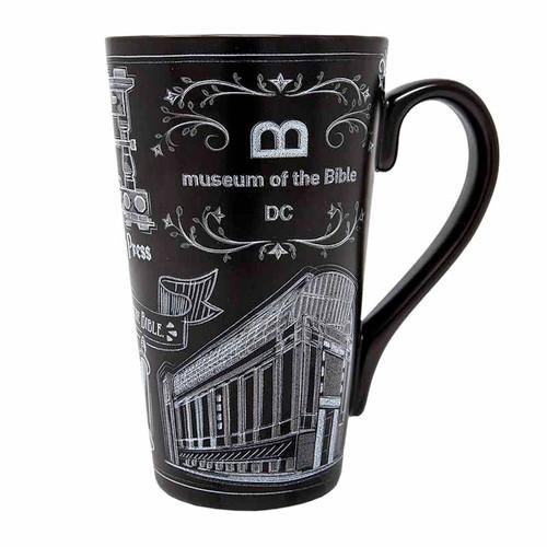 MOTB Chalkboard Line Latte Mug