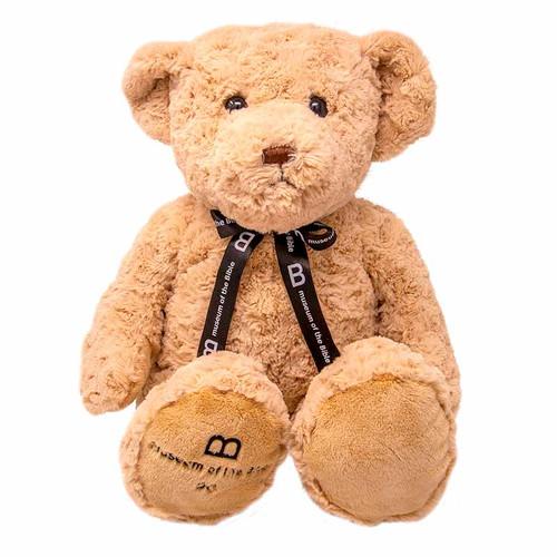 "MOTB 14"" Tan Bear with Ribbon"