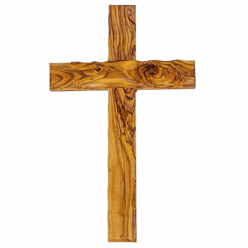 Olive Wood Cross (25 cm)